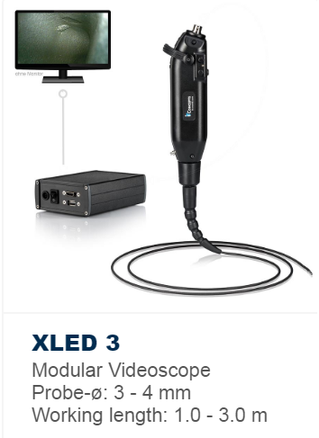 XLED 3 with modular probes starting at 3mm