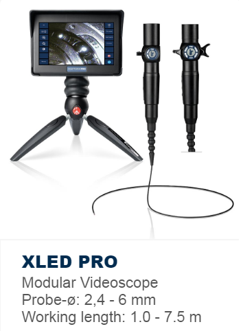 XLED PRO Modular Video Borescope